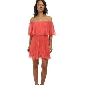 BCBG Shalom Coral dress